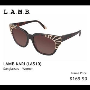NWOT LAMB sunglasses